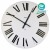 ALESSI 時鐘(白) FIRENZE WALL CLOCK WHITE #12 W
